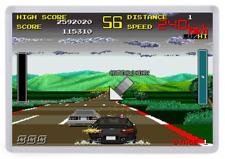 Chase HQ Fridge Magnet. Arcade Screenshot. Retro Gaming