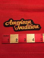 Version 2 AMERICAN TRADITION Advertising Patch 85I5