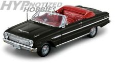 SUNSTAR 1:18 1963 FORD FALCON OPEN CONVERTIBLE DIE-CAST BLACK SS4533