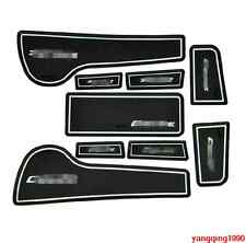 Interior Door Mat Cup Pads Holder 9PCS For Chevrolet Cruze 2009 - 2015