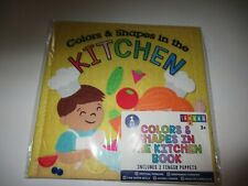 Target Bullseye PlayGround Learning School Supply Kitchen Colors Shape Felt Book