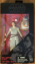 "Star Wars Black Series TFA The Force Awakens Rey (Jakku) & BB-8 6"" Inch Wave 3"