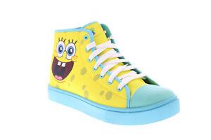 Heelys Hustle Spongebob Squarepants HES10330M Mens Yellow Sneakers Shoes