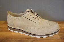 Clarks Darble Limit Mens Size 7.5 UK Sand Beige Nubuck Leather Shoes BNWB