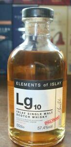LG10 - ELEMENTS OF ISLAY - LAGAVULIN  - 57,4%vol., 0,5L 2007/2019 1/986