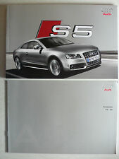 Prospekt Audi S5 Coupe zur Premiere, 3.2007, 64 Seiten + Preisliste