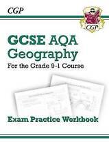 New Grade 9-1 GCSE Geography AQA Exam Practice Workbook by CGP Books (Paperback, 2016)