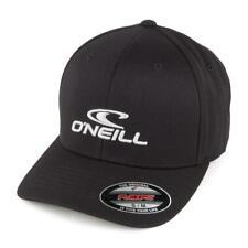 "O'NEILL ""FLEXFIT CORP CAP"" MENS FLEXFIT CAP. BLACK OUT"