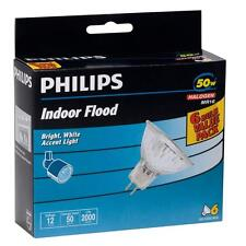Philips 406009 50-Watt Halogen MR16 Light Bulbs (6-Pack) Free Shipping