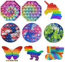 Pop Bubble Kids Toy Push It Special Needs Silent Sensory Fidget Autism Classroom