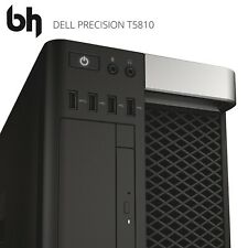 Dell T5810 Configurable Workstation: 10-Core Xeon / 3.70GHz, 128GB DDR4 & SSD