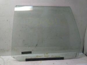 Drivers Rear Door Glass for 91-96 Chevrolet Caprice Wagon