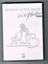 AVERAGE WHITE BAND - LIVE AT MONTREUX 1977 - DVD NEUF NEW NEU