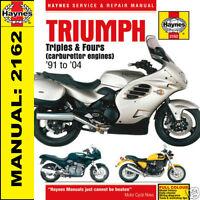 Triumph Trophy Tiger Trident Sprint 900 1200 1991-2004 Haynes Manual 2162 NEW