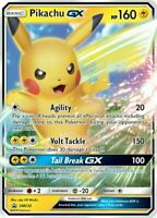 Pokemon - PIKACHU GX - SM232 - Black Star Promo - Ultra Rare - Normal size -NM/M