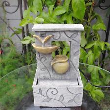 Feng Shui Tabletop Indoor Leaf Pot Indoor Fountain
