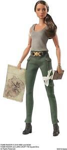 Barbie Signature Tomb Raider Doll Laura Croft Adventure Movie Mattel DEALS