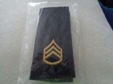 ^ (A30-3) US Schulterklappen Shoulder Bord Staff Sergeant long org. Verpackt Ty2