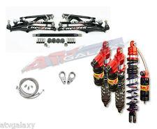 Houser XC A-Arms Elka Long Travel Front Rear Shocks Suspension Kit TRX450R