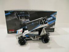 KYLE LARSON .. signed 2015 .. PLAN B .. SPRINT CAR .. 1/24 CAR