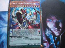 Buntäugiger pendeldrache ct12-de001 Secret rare péndulo dragón Yu-Gi-Oh