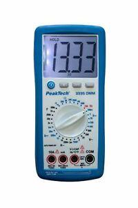 Digital-Multimeter PeakTech 3335 DMM 10A AC/DC * Manu.-Range