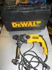 230V DEWALT 3-MODE SDS+ HAMMER DRILL D25123 L@@K DEWALT CHISELER SDS+ & CASE