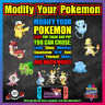 MODIFY Your Own Pokemon   Legit   Shiny   Perfect 6IV   Pokemon Sword Shield