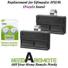 2 Replacement for Liftmaster 372Lm Car Garage Door Remote Opener