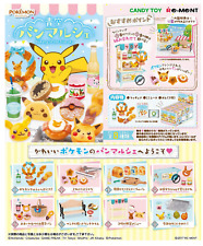 Miniatures Pokemon Bakery in the Blue Sky Pan Marche Box Set - Re-ment  , #3ok