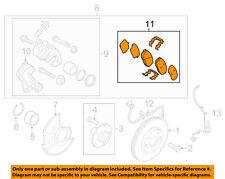 HYUNDAI OEM 11-15 Elantra Brake-Front Pads 581013XA20