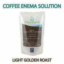 COFFEE ENEMA SOLUTION LIGHT GOLDEN AIR ROASTED - 7 Pcs GERSON ORGANIC FAIRTRADE