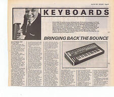 ROLAND MP 600 COMBO PIANO REVIEW  press clipping 1979 (28/04/79)