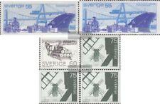 Schweden 709yA,C,710yA,711yA, Dl,Dr (komp postfrisch 1971 Freimarken