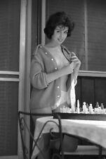 1950s Vogel Negative, sexy brunette pin-up girl Jean Brett, cheesecake, t247256