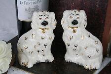 Vintage Beswick Staffordshire King Charles Spaniel Dog Figurines, Pair 60's