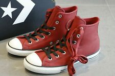 Brand New Converse Red Leather Hi Tops Trainers Sneakers Junior Womens   Size 5