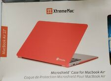 """XTREME MAC Coque protection MICROSHIELD Rigide Pour MacBook Air 13 """" ROUGE"""