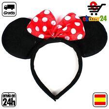 Minnie Mouse Lazo Rojo diadema partido de los niños Minnie Mouse orejas accesori
