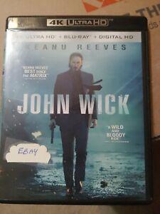 John Wick 4K Ultra Hd [Blu-ray], DVD, , , Very Good