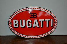 Plaque émaillée Bugatti