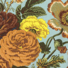 Philip Jacobs PWPJ086 Summer Bouquet Brown Cotton Quilting Fabric By Yard