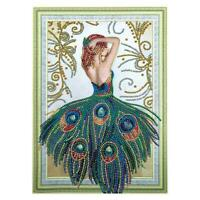 5D DIY Special-shaped Diamond Painting Beauty Cross Stitch Embroidery Kit