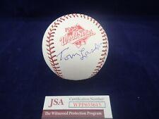 "Tommy ""Tom"" Lasorda LA Dodgers Signed OML 1988 W.S. Baseball - JSA WPP655615"