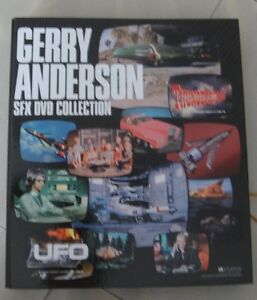 JAPAN BANDAI  THUNDERBIRDS GERRY ANDERSON SFX DVD COLLECTION (JAPANESE VERSION)
