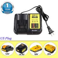 DCB112 Li-on Battery Charger for Dewalt DCB101 DCB105 DCB115 DCB107 12V 18V 20V