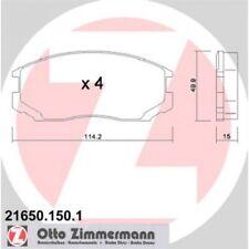 ZIMMERMANN Brake Pad Set, disc brake 21650.150.1