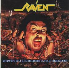 RAVEN - NOTHING EXCEEDS LIKE EXCESS (1988) RARE CD Jewel Case+FREE GIFT Metal