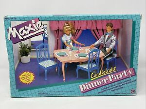 Vintage 1989 Maxie Candlelight Dinner Party Set (New Old Stock) • HASBRO