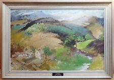 Lake District Farmstead. Oil by listed artist Irene Amy Welburn ROI RBSA 1980